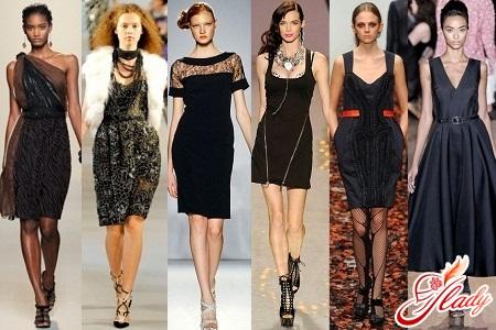 Черное платье с какими украшениями носить