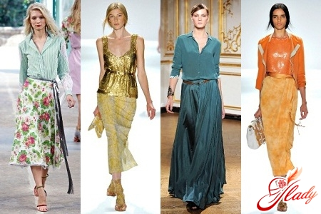 Модны ли еще длинные юбки