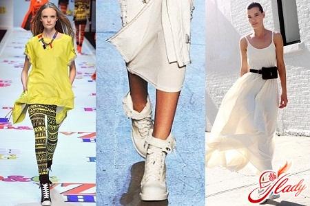 Что модно носить с кедами в 2016 году?