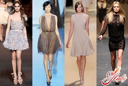 коктейльные платья 2012 года фото