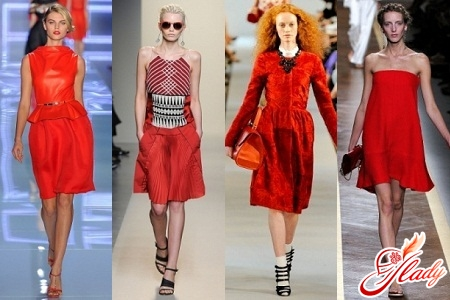 фото платье красное маленькое
