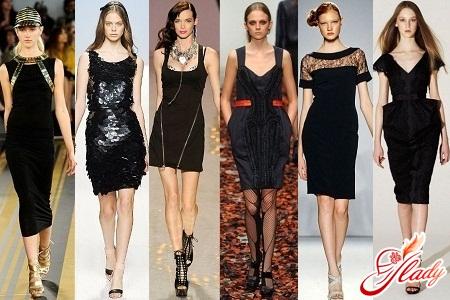 маленькие черные платья