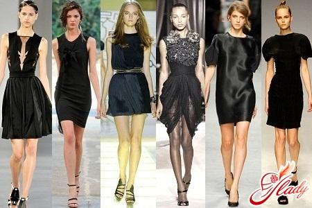 маленькие черные платья фото