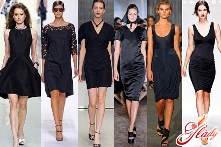 маленькие черные платья 2012