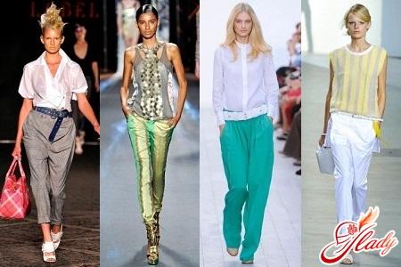 летние брюки женские