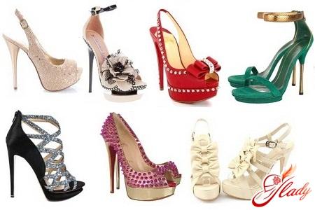 обувь на выпускной 2012