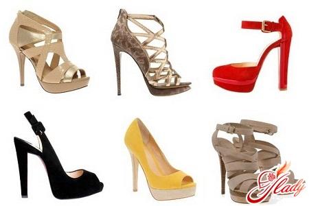 обувь для выпускного вечера 2012