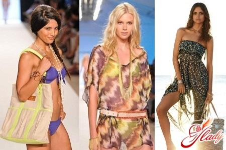 пляжная мода 2016 тенденции фото