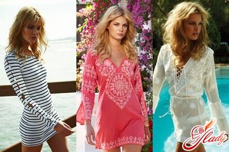 тенденции в пляжной моде 2012