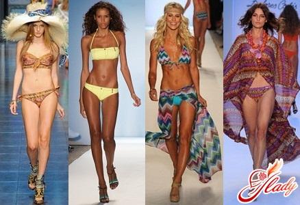 тренды пляжной моды 2012