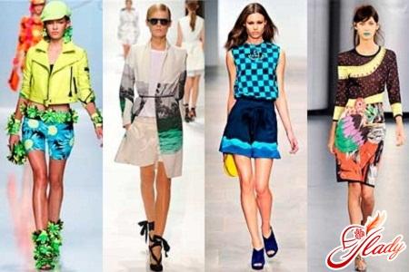 модные принты 2012