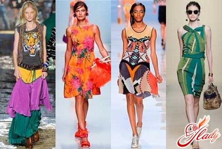 модный принты в одежде 2012