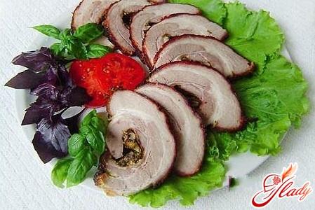 простые блюда из свинины рецепты