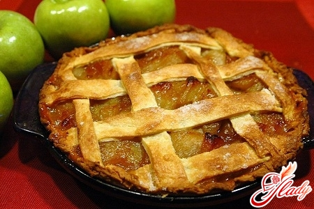 рецепт яблучного пирога шарлотка
