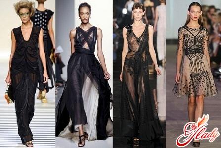 летнее модное платье из шифона