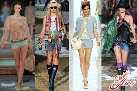 джинсовые шорты мини женские