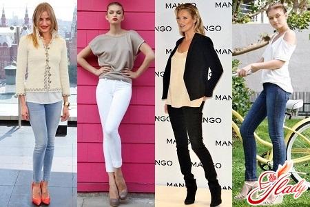 джинсами скинни