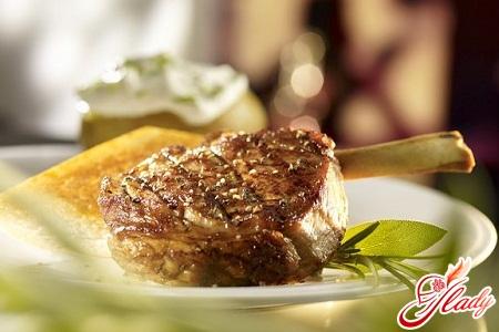 простое блюдо из свинины