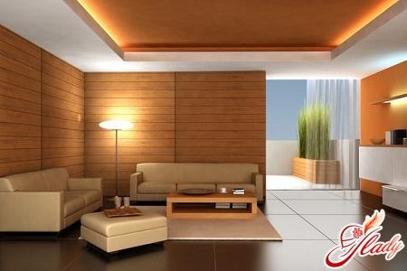 что выбрать натяжной или реечный потолок
