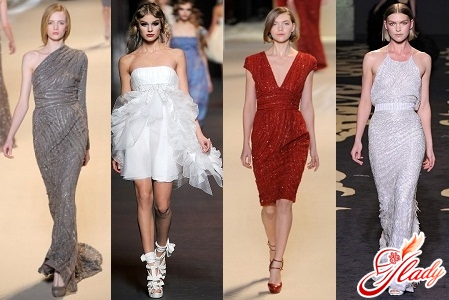 модные платья на выпускной 2012