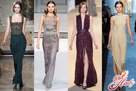 модные платья выпускной 2012