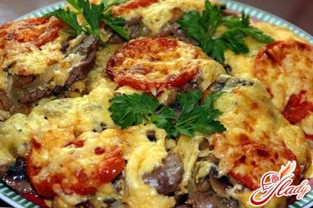 рецепт мясо по французски с картошкой