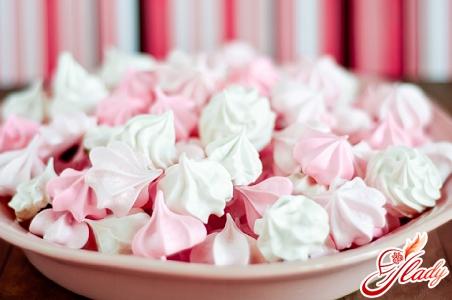 рецепт безе для украшения торта