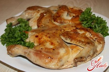 как приготовить цыпленка табака в духовке