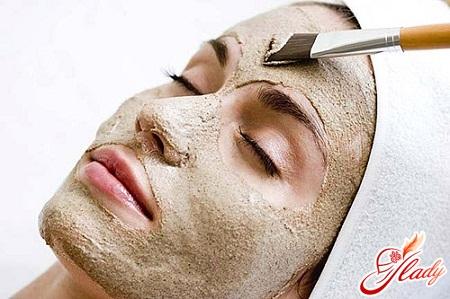маска для лица из глины
