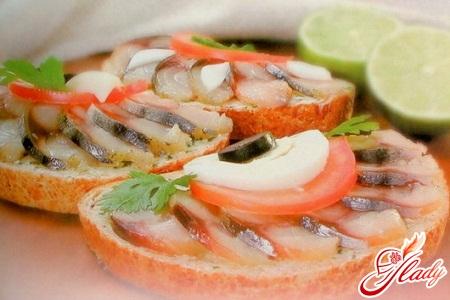 бутерброды горячие в духовке