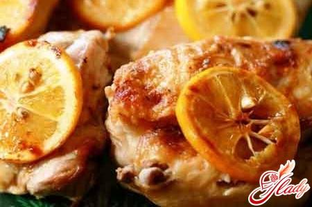 блюдо из курицы в духовке