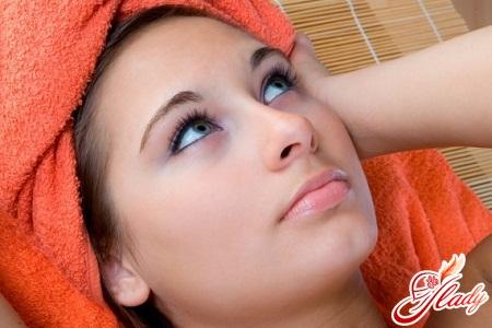 маска для волос для секущихся волос