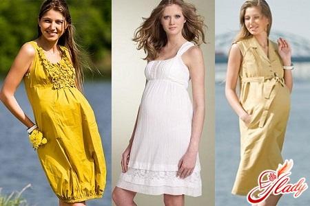 летняя одежда для беременных фото