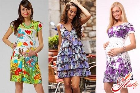 одежда летняя для беременных