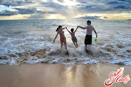 пляжный отпуск в сентябре