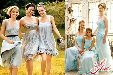 модное платье подружки невесты 2012