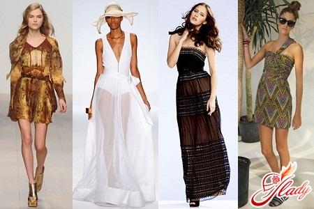 пляжные платья и сарафаны 2012 фото.