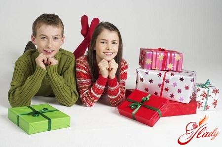 подарки для подростков
