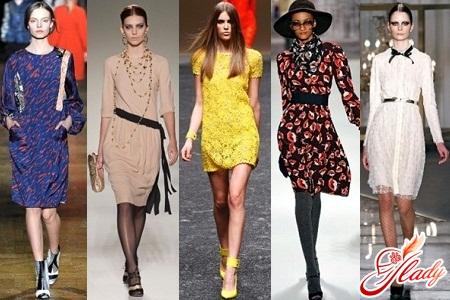 Повседневные платья 2012 фото модные