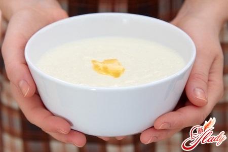 рецепт пшенной каши на молоке