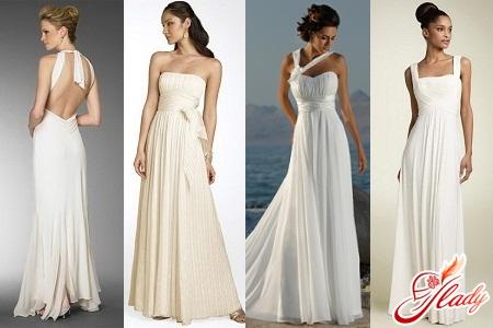 весільні сукні в грецькому стилі