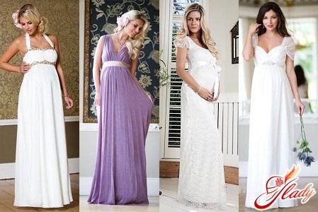 свадебные платья 2012 для беременных