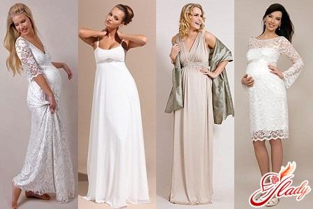 свадебные платья 2012 для беременных фото