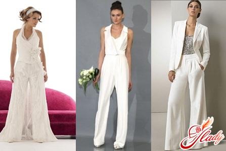 Свадебный костюм для невесты: прекрасная альтернатива платью