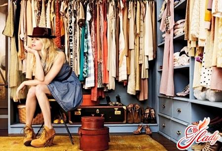 гардеробные комнаты своими руками