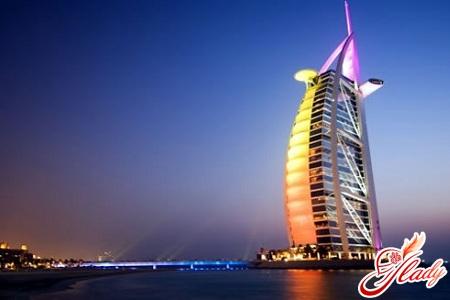 Отель Парус Дубаи: роскошь в стекле и камне