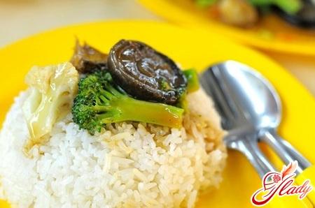 трехдневная рисовая диета