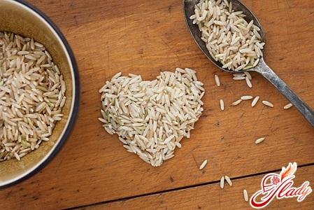 рис диеты очищения организма