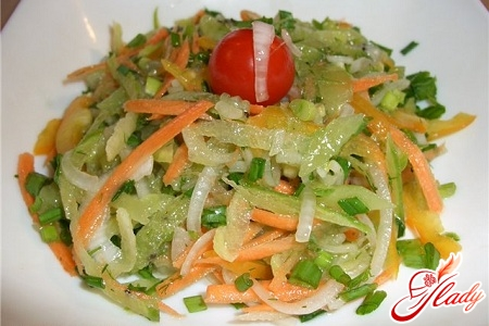 Салаты разные овощные