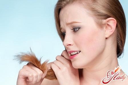 волосы секутся что делать